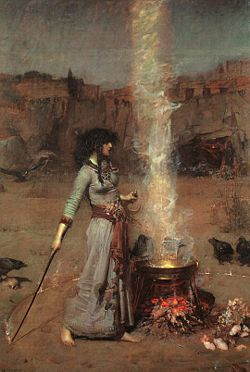 Waterhouse_-_Magic_Circle